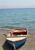 Boat on the shore, Beksis, Greece