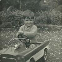 First Sports Car. Crica Dublin 1962
